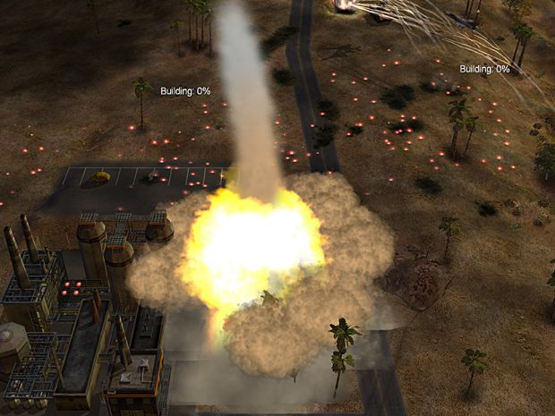 Cruise Missile Impact Image MidEast Crisis Mod For CampC
