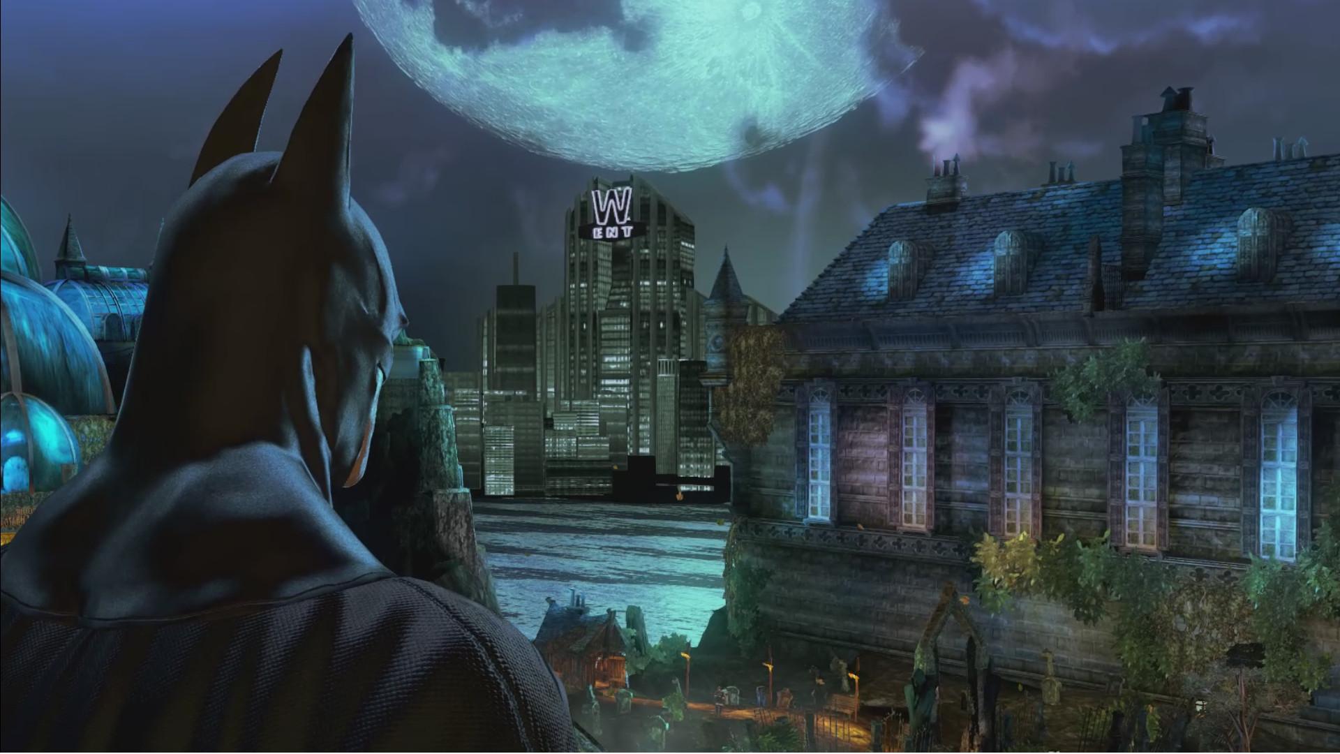 Arkham Asylum Original Vs Graphics Mod Comparison Video