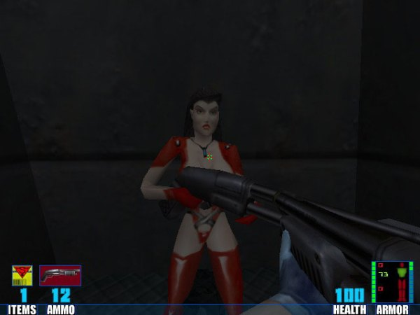 Elexis Sinclaire patch 102 Red Leather addon SiN Mod DB
