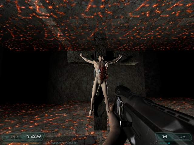 E3M1 Hell Keep Doom3 Addon Mod DB