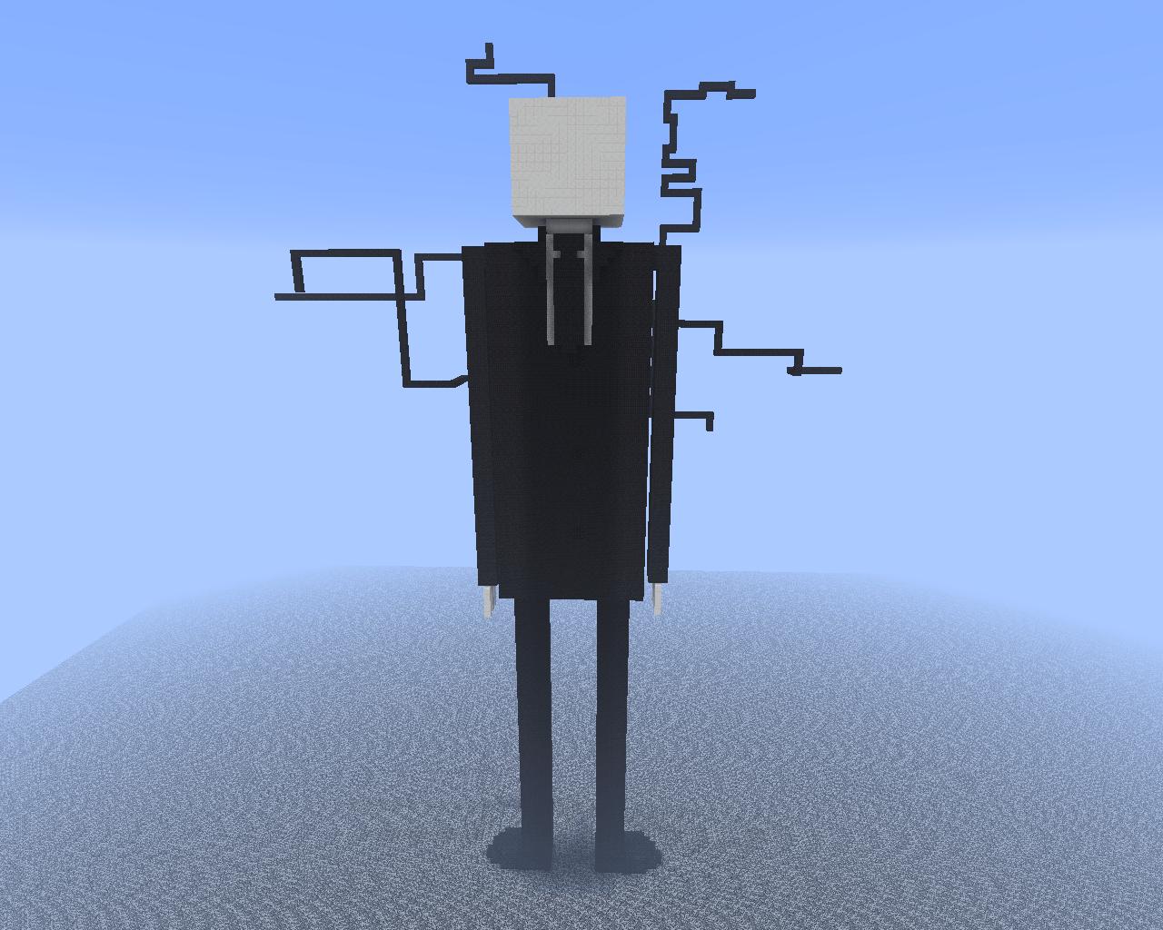 Slenderman Statue Addon Minecraft Mod DB