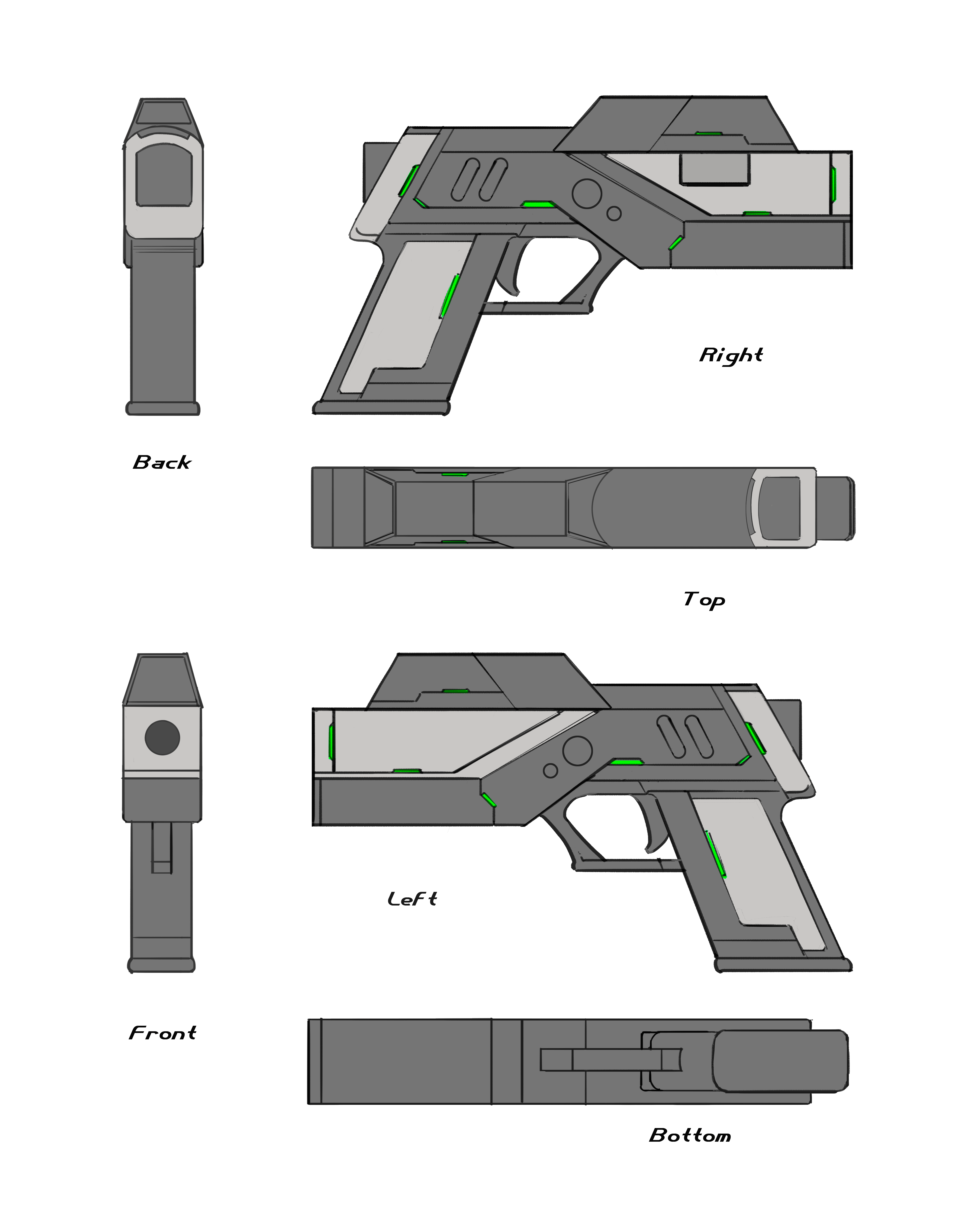 Another Pistol Concept Final Sheet Image