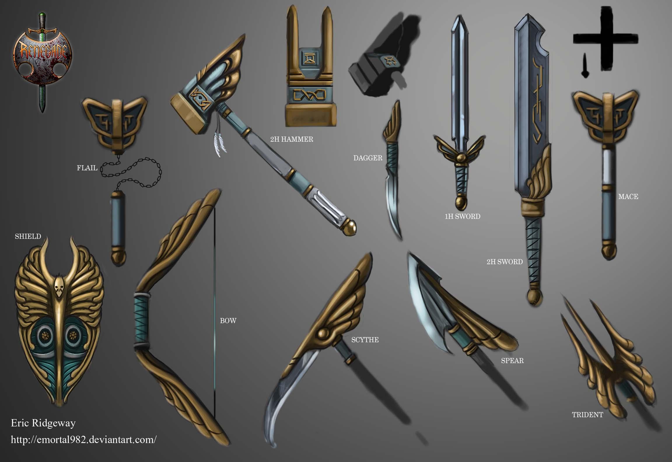 Valkyrie Weapon Set Image Renegade Medieval Mod DB