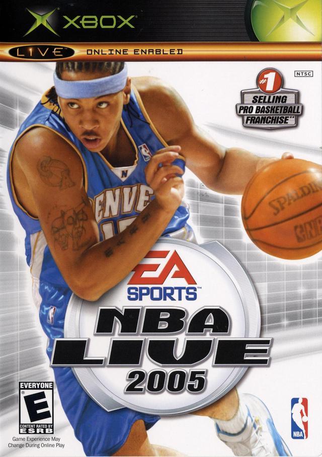 NBA Live 2005 Windows XBOX PS2 Game Mod DB