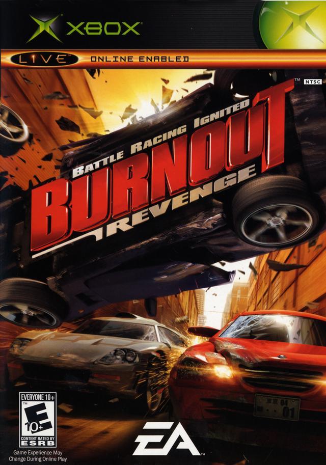 Burnout Revenge X360 XBOX PS2 Game Mod DB