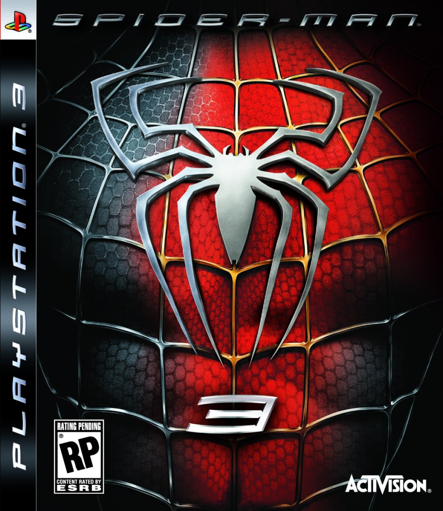Spider Man 3 Windows X360 PS3 PS2 PSP Wii DS GBA