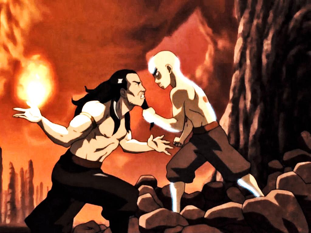 Last Vs Airbender Aang Ozai Avatar