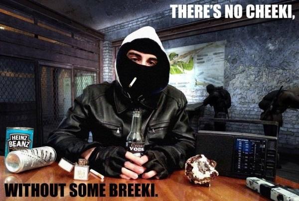 There's no cheeki without some breeki image - 100 Rads Bar ...