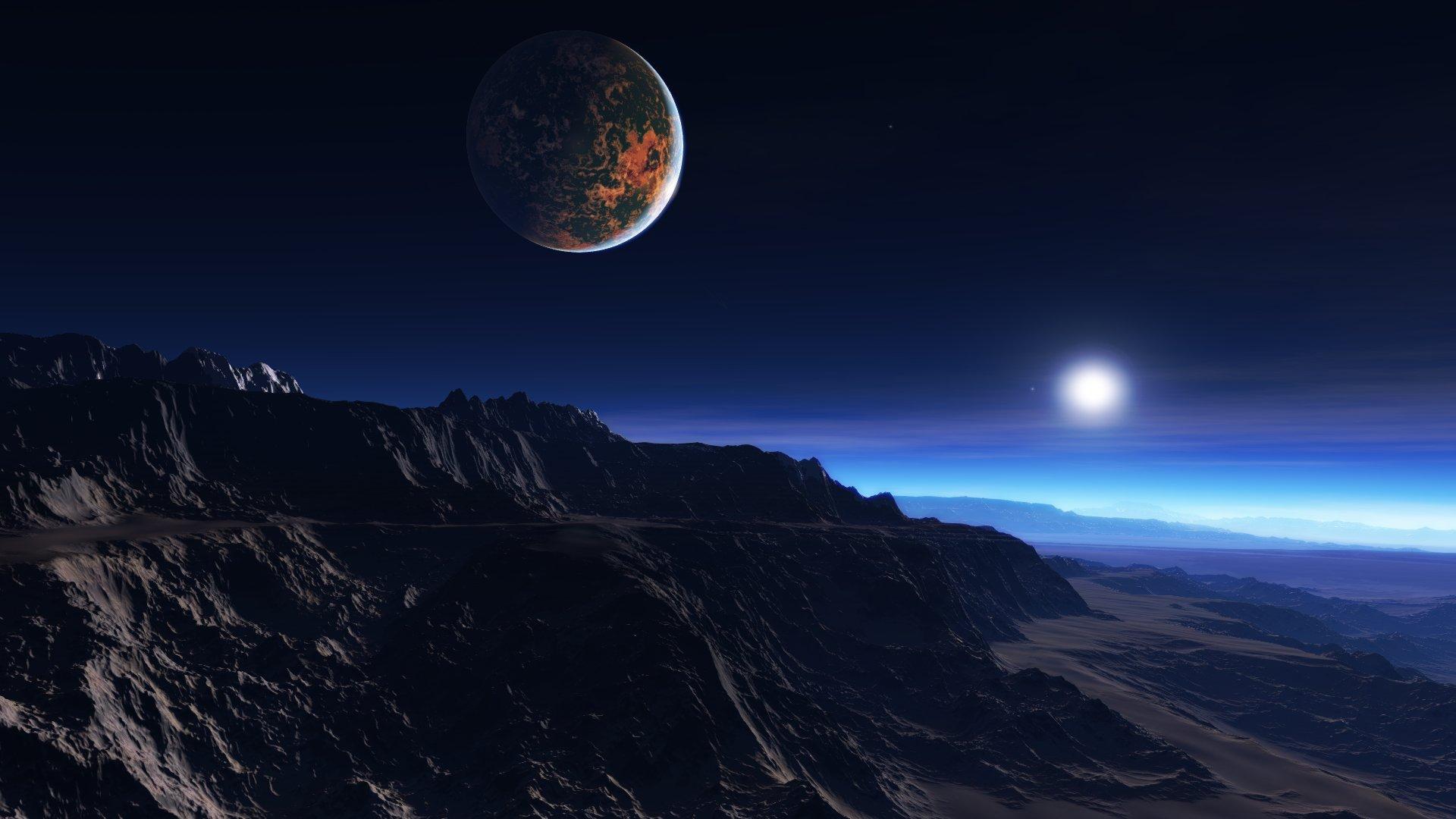 Solar System 3d Wall