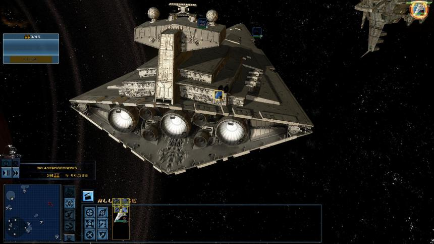 Star Wars FOC Alliance Rebellion – New engines work