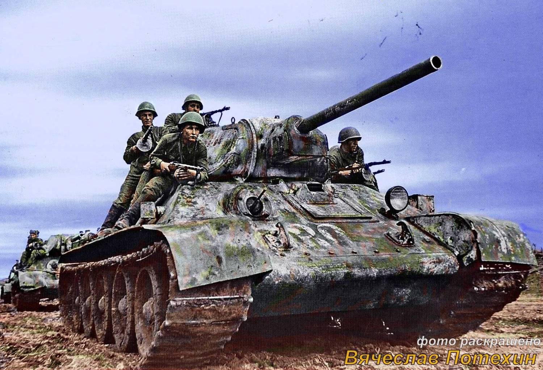 Soviet T 34 Tank Image