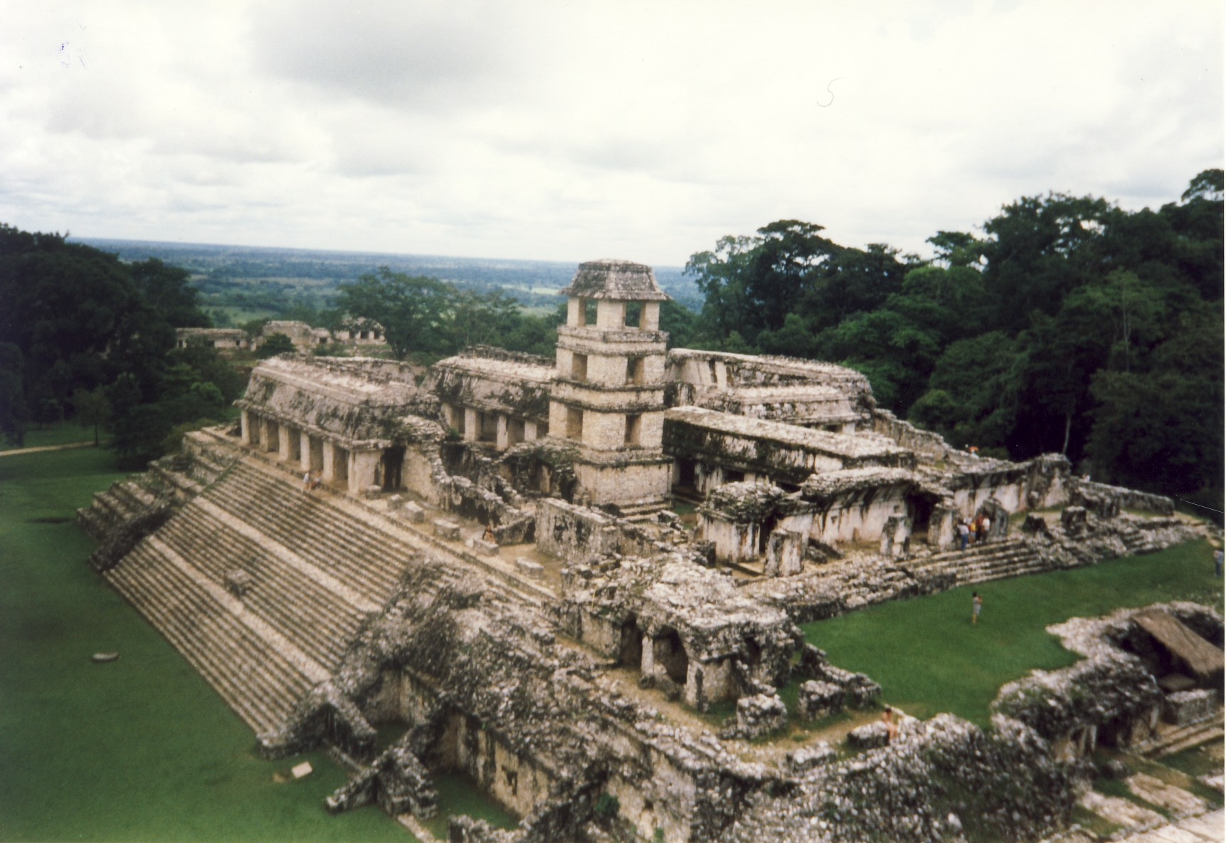 Palenque Image Architecture Of Antiquity And The Middle