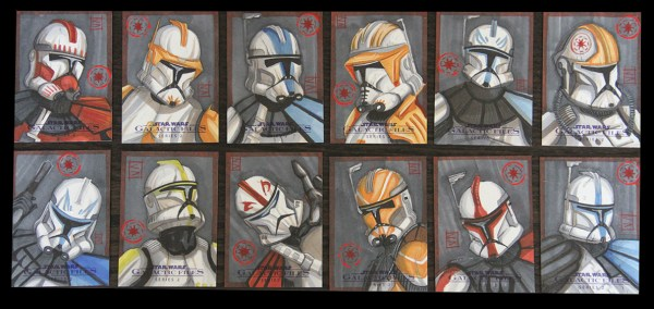 More sketch cards image - Clone Wars Fan Group - Mod DB