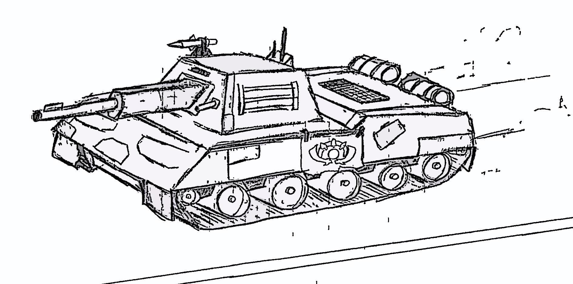 Gla Scorpion Tank Mk Ii Image