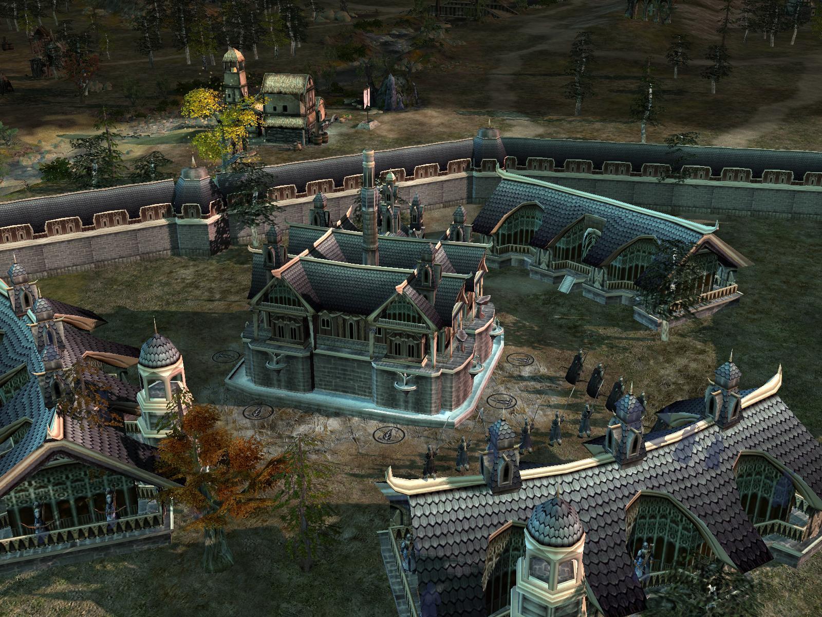 Rivendell Architecture Image Rj Rotwk Mod For Battle For