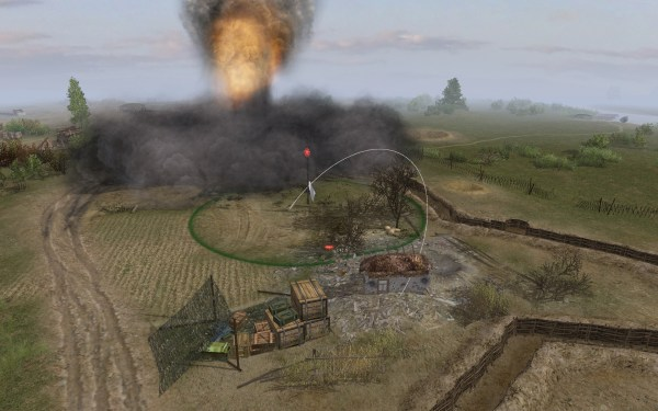 Terrain Effect after a Hit from 600mm Karl Mortar image ...
