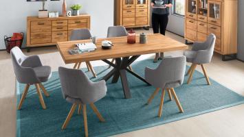 Esstisch Eastbourne Tisch in Eiche massiv mit ...