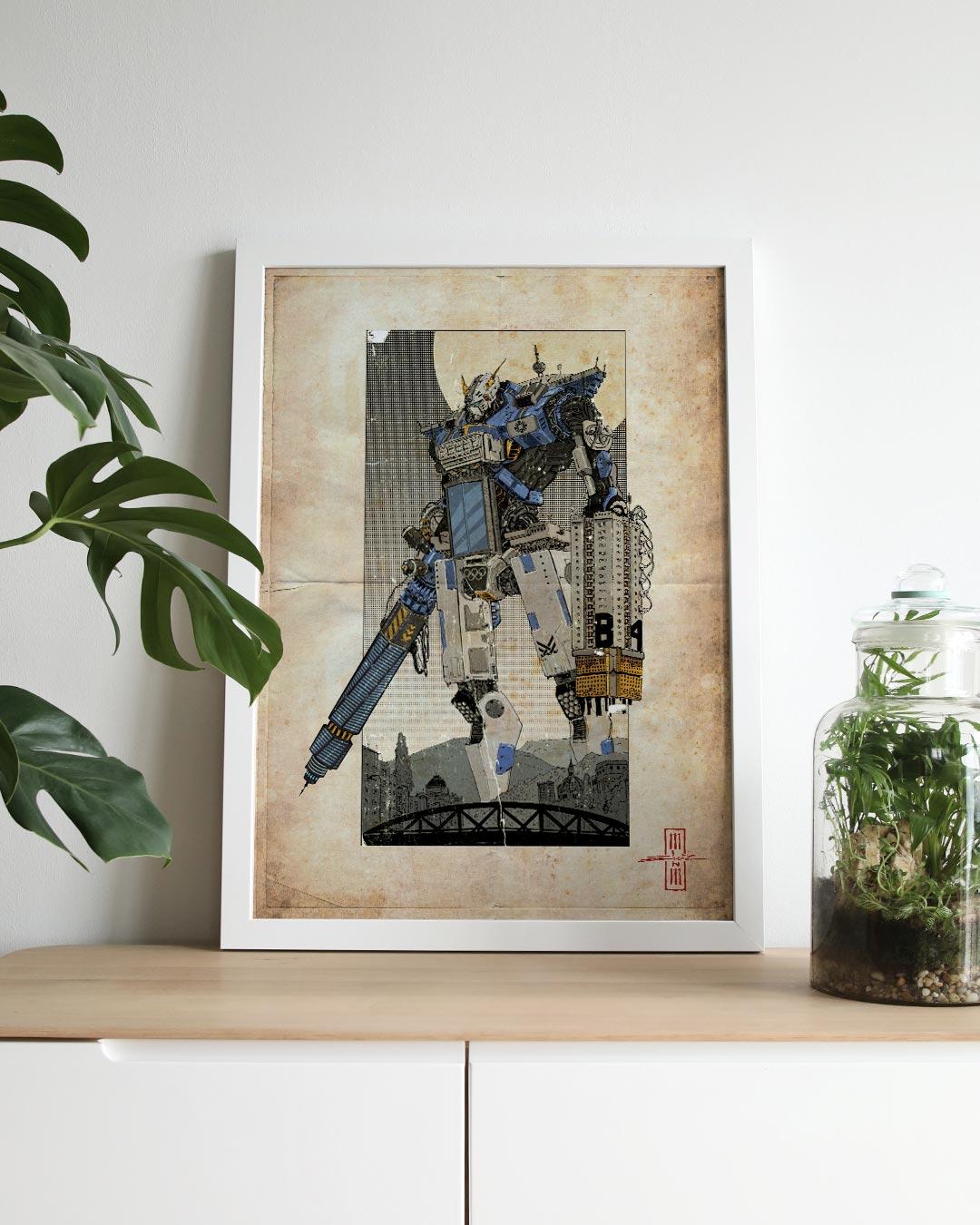SaBot Molimao - Art Print