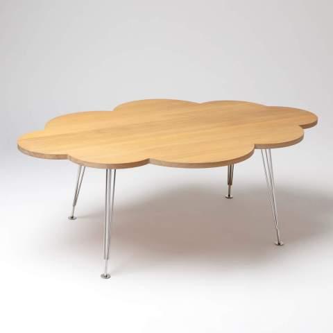 The Cloud Table – coffee table – oak – Molnbordet
