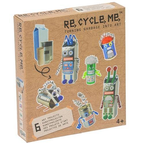 "Presentförpackning - Re-Cycle-Me ""Robot World"""