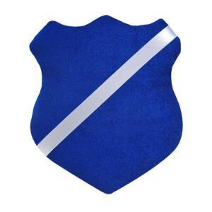 Märkessköld blå/vit