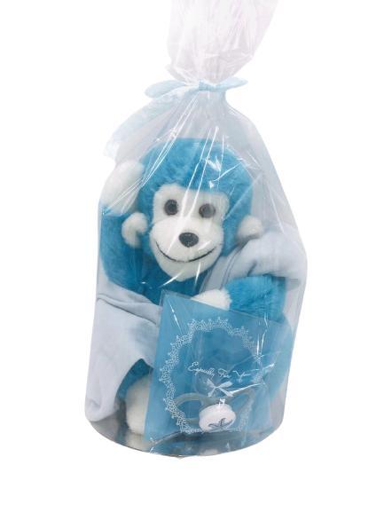 Presentpåse bebis - gosedjur, napp, byxor
