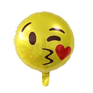 Stor Emoji ballong (helium eller luft)