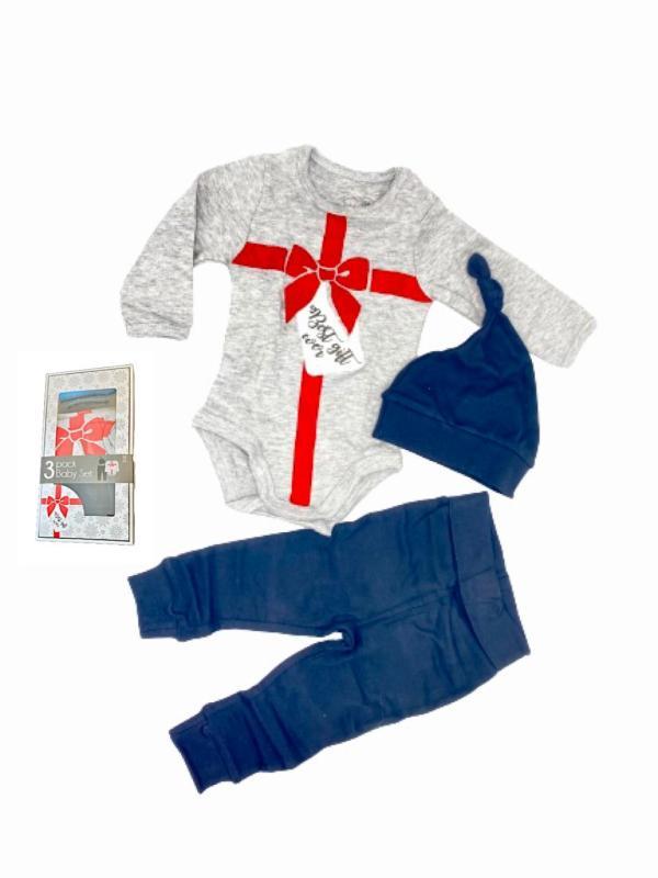 3 delat set till jul babykläder storlek 56