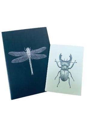 """Insekter"" anteckningsblock 2 pack"