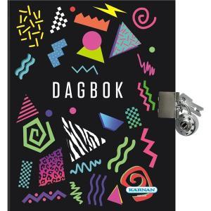 Dagbok Kärnan Egmont (med lås och nycklar)