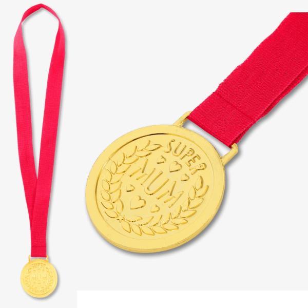 """Medalj till mamma """"Super Mum"""""""