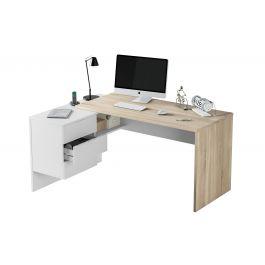 In stile classico o moderno. Office Scrivania Misure 145x108x73 Cm O4vq