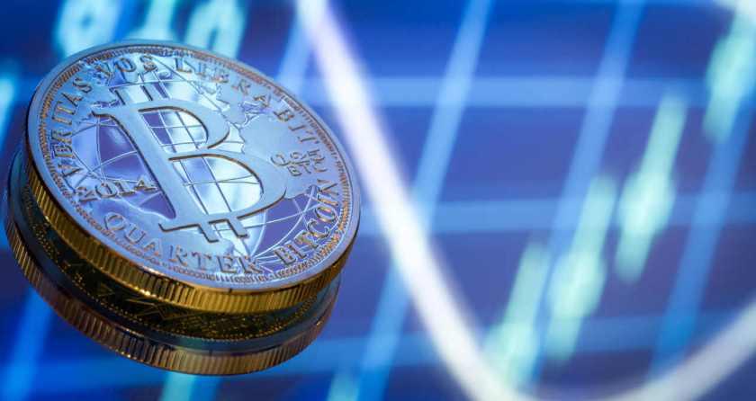 Bitcoin Graph drop