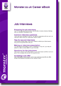 Free career ebook from Monster