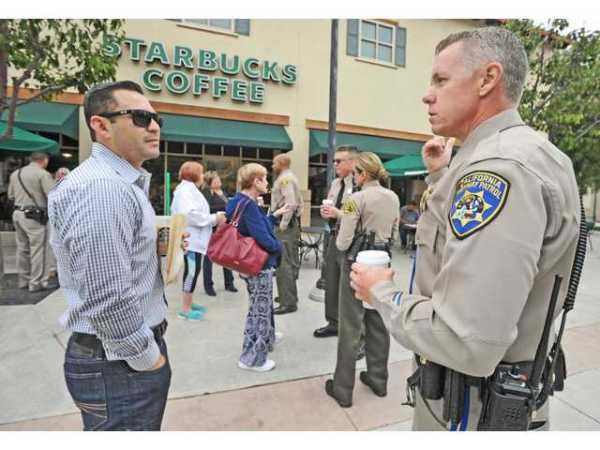 CHP, Sheriff's Station team up for coffee meeting