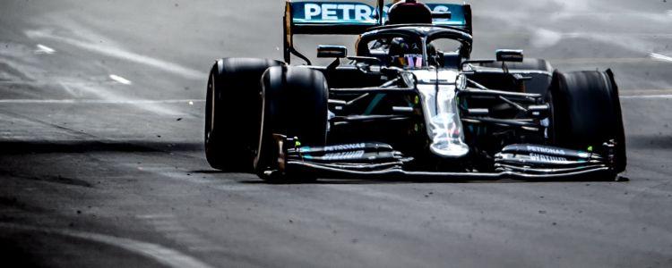 Analisi F1 Silverstone 2020: Hamilton, bastano 3 ruote - MotorBox