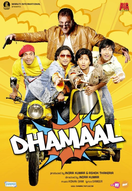 Watch Dhamaal 2007 Free Online