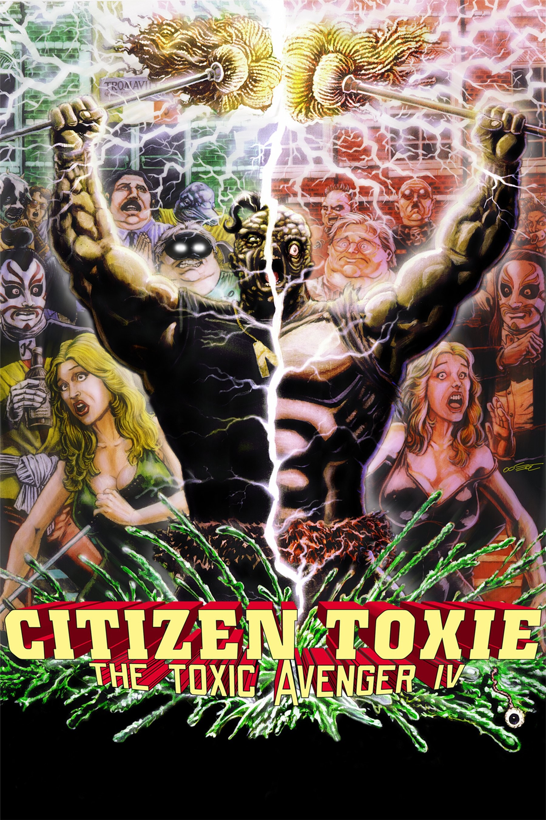 Watch Citizen Toxie: The Toxic Avenger IV (2001) Free Online