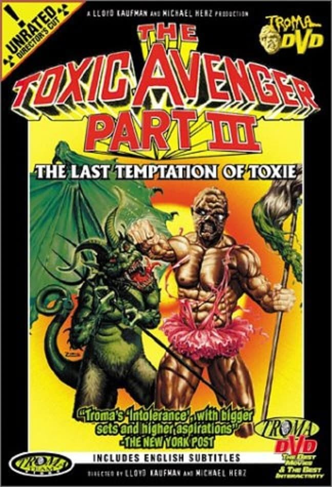 Watch The Toxic Avenger Part III: The Last Temptation of Toxie (1989) Free Online