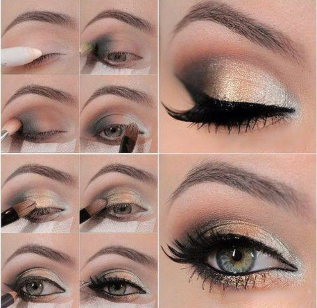 Eye Makeup For Party Step By
