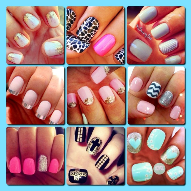 Cute French Tip Acrylic Nail Designs