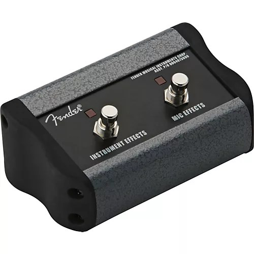 Fender 2 Button Footswitch For Acoustasonic