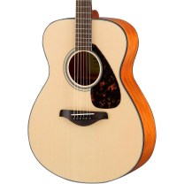 Yamaha guitar, acoustic solid top small body guitar, Yamaha FS800, beginner guitar