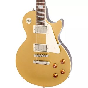 Epiphone Les Paul Standard Plain Top Electric Guitar Gold
