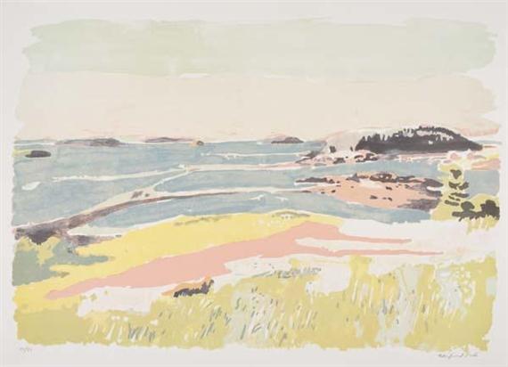 Artworks Of Fairfield Porter American 1907 1975