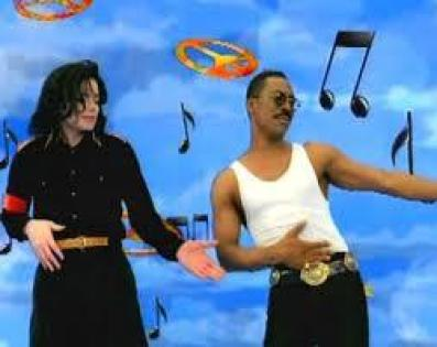 """Michael Jackson Eddie Murphy """"What's Up With You"""""""