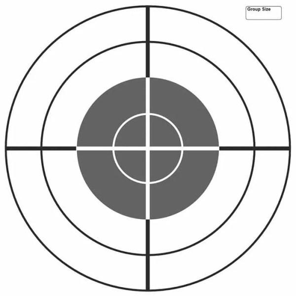 free printable shooting target # 3