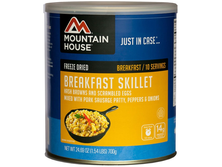 Mountain House Breakfast Skillet Freeze Dried Food #10 Can