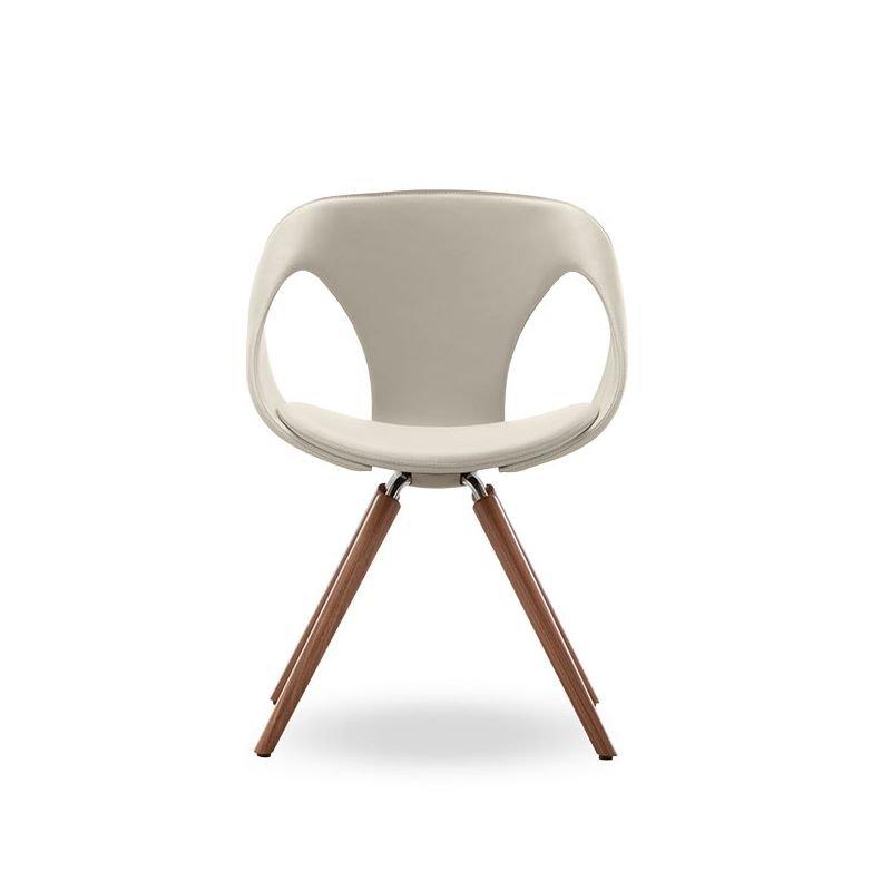 chaise cuir bois rembourree up chair tonon