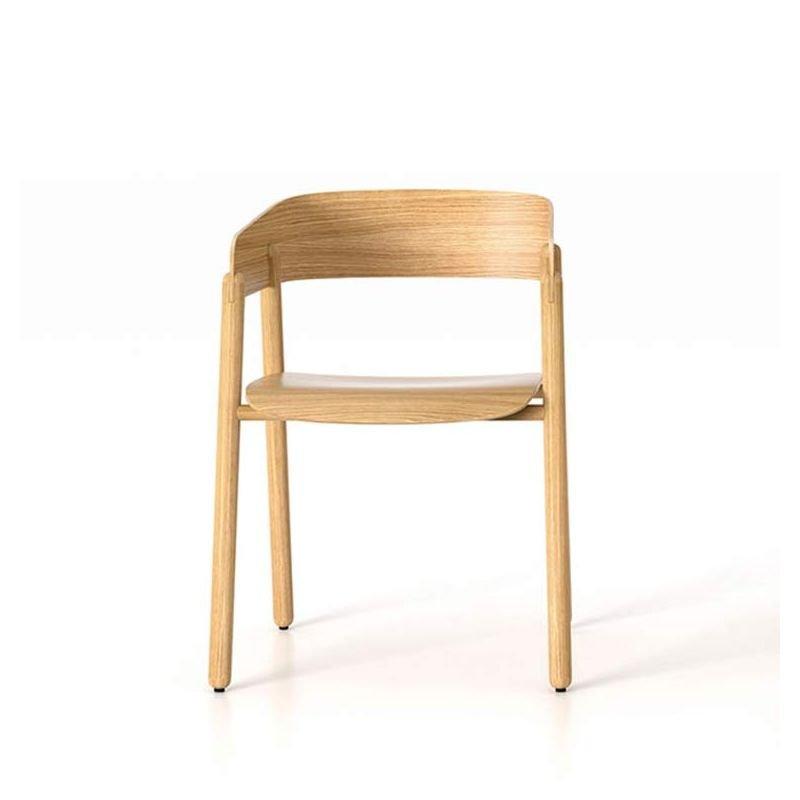 mava chaise a accoudoirs punt en bois design s jasny
